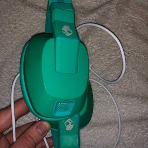 Skullcandy Crushers Green and White (Bass Boosted)